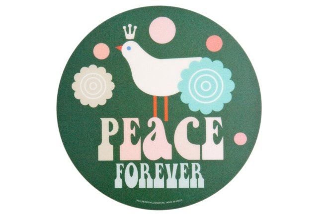 S/2 Mousepads, Peace