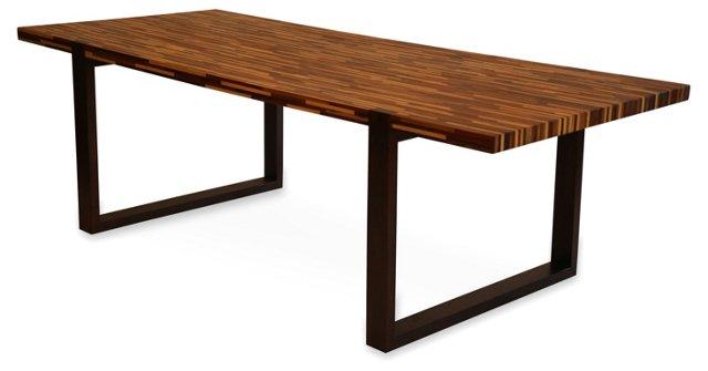 96x40 Dalton Dining Table, Natural