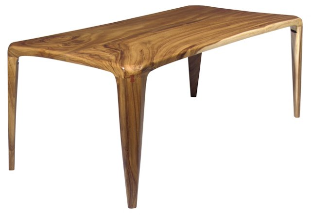 "84"" x 40"" Spider Leg Dining Table"