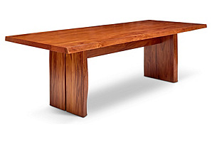 "Lee 95"" Live Edge Dining Table, Natural*"