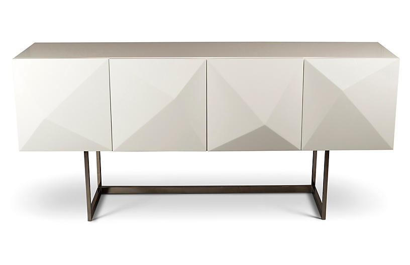 Cube Sideboard, White