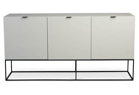 Plano Sideboard, Taupe Gray