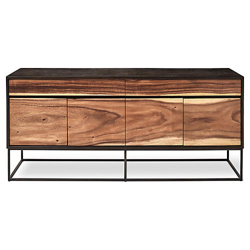 Yoga Sideboard, Natural/Black