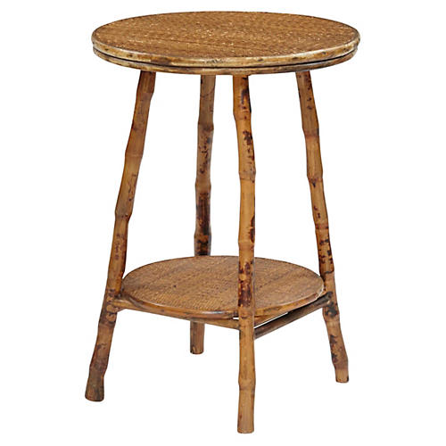 English Side Table, Tortoise