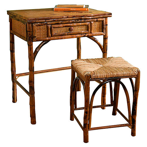 William Desk with Stool