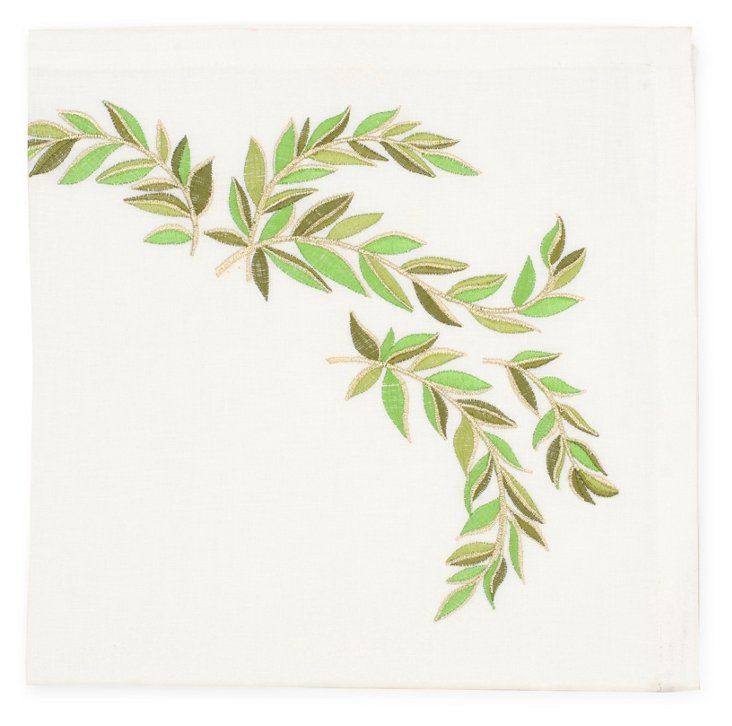 S/4 Laurel Leaf, Green
