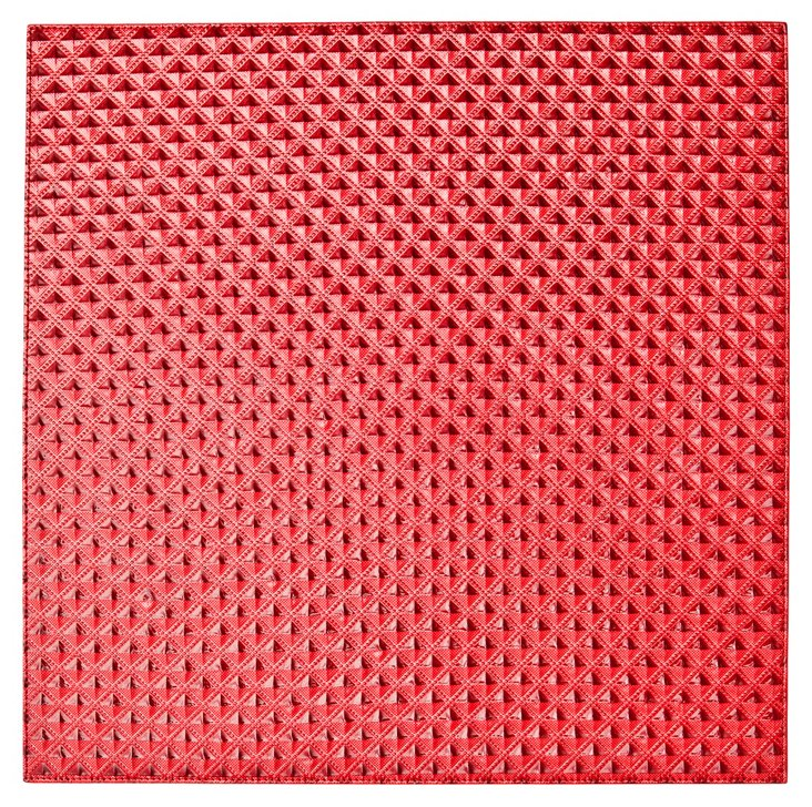 S/4 Mastaba Place Mats, Red