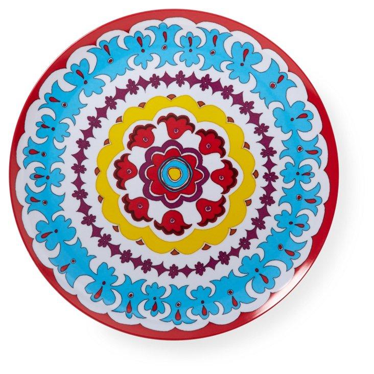 S/4 Suzani Salad Plates