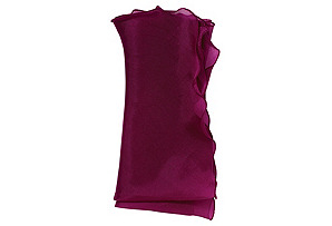 Bias Silk Organza Dinner Napkin*