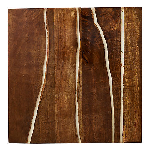 S/4 Fragment Place Mats, Brown