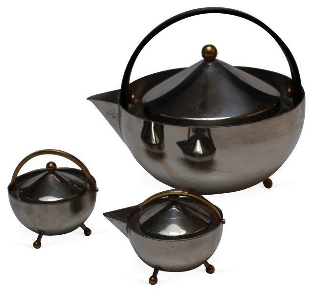 Vintage Bodum Tea Set, 3 Pcs.