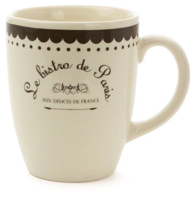 S/4 Parisian Mugs