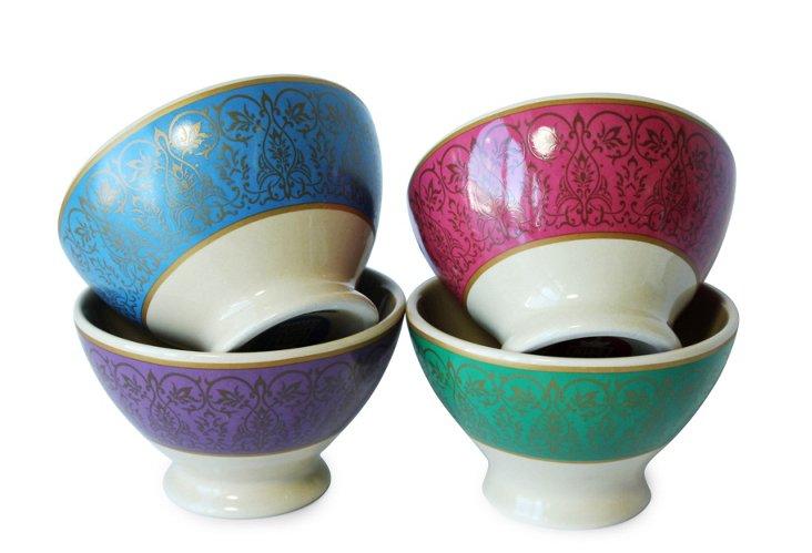 S/4 Moroccan Mini Bowls