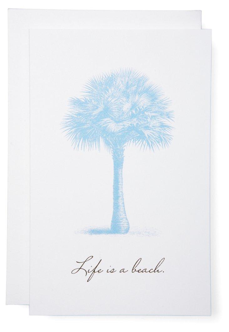 S/6 Life Is A Beach Cards