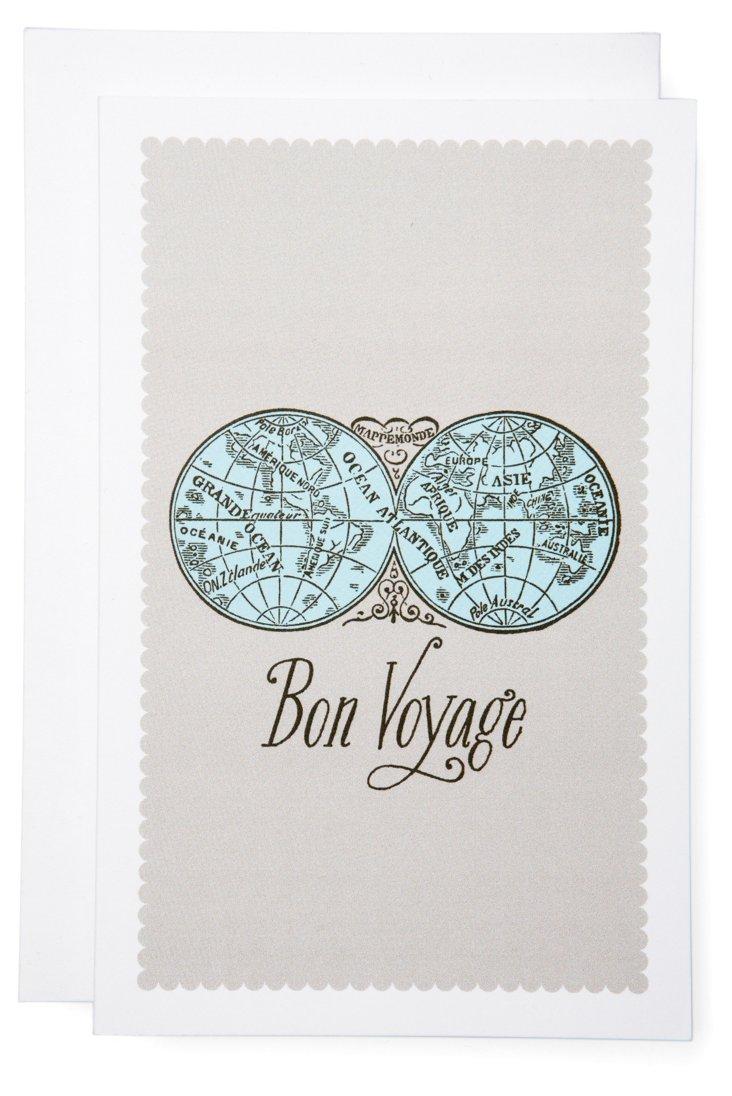 S/6 Bon Voyage Cards
