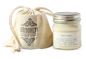 Love Spell Mason Jar Candle