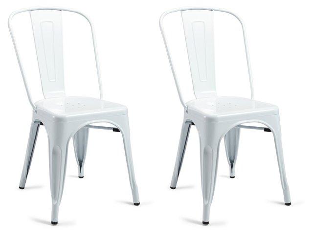 Cloud Liv Metal Chairs, Pair