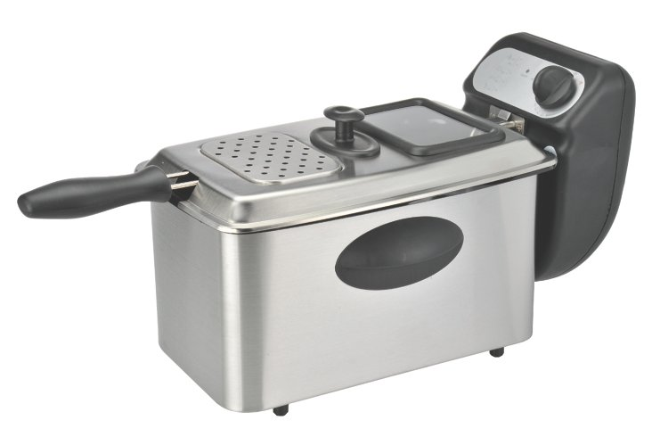 4-Liter Stainless Steel Deep Fryer