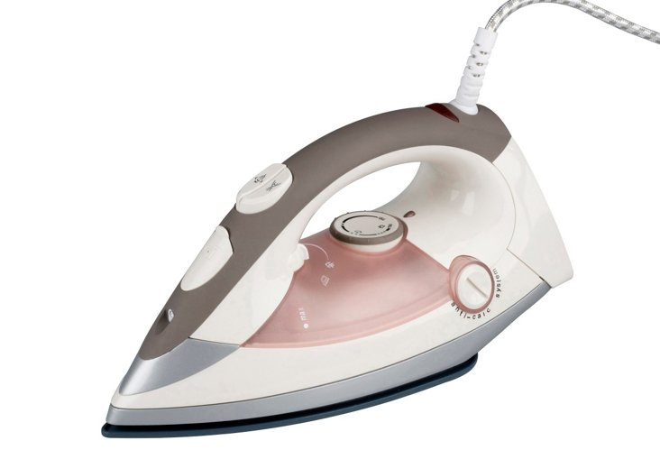 Pink Steam Iron w/ Thermocolor System