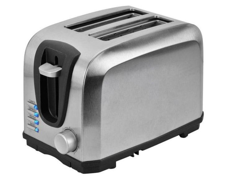 2-Slice Toaster, Stainless Steel