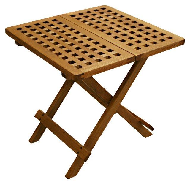 Windsor Outdoor Folding Side Table