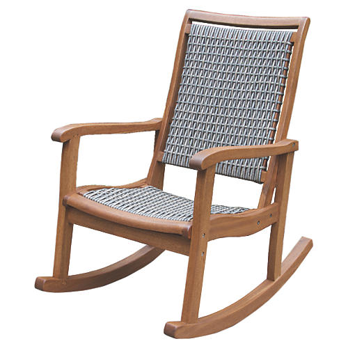 Mill Rocking Chair, Gray