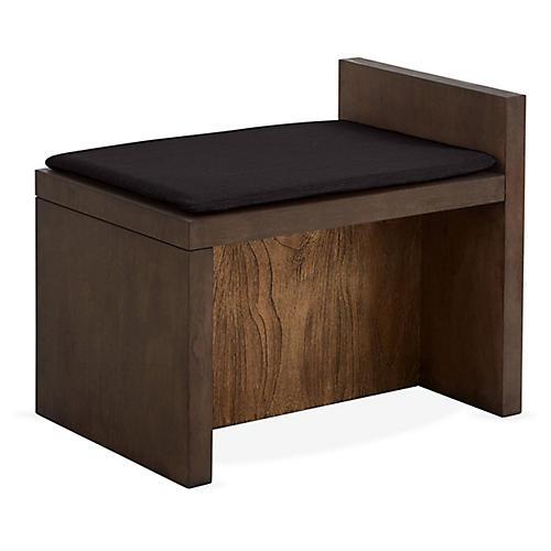 Together Bench, Noir Black/Natural
