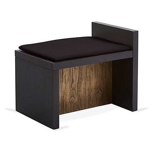 Together Bench, Noir Black