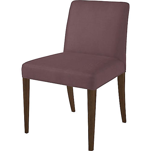 Slip Side Chair, Orchid Dusk/Natural