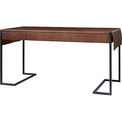 Straight-Up Desk, Saddle