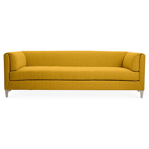 "Beau 90"" Sofa, Citrine"