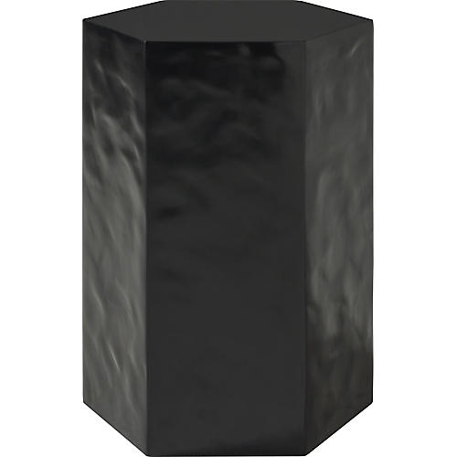 "Composed 19"" Side Table, Black"