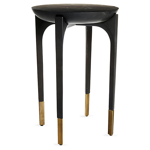 Cradle Side Table, Black