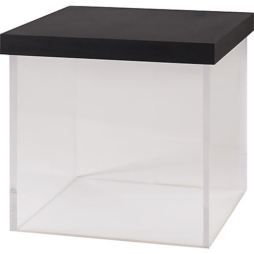 Float Side Table, Black