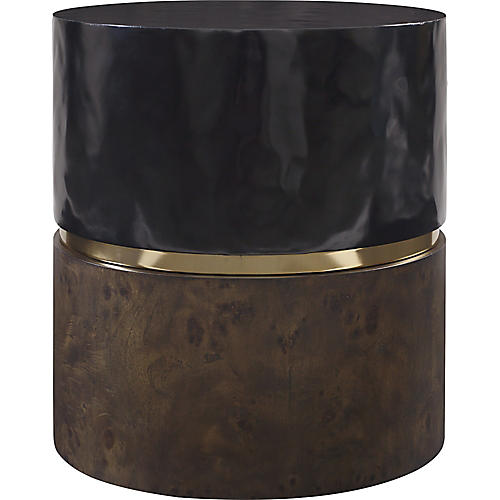 Grounded Side Table, Black