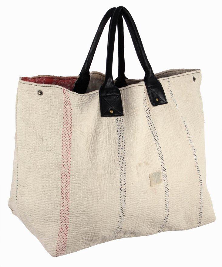Kantha Tote Bag,  Massey