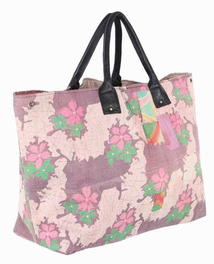 Kantha Tote, Popsicle