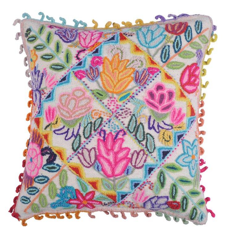 Diamond 18x18 Pillow, Multi