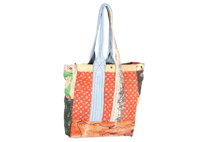 Kantha Multipatch Tote, Reade