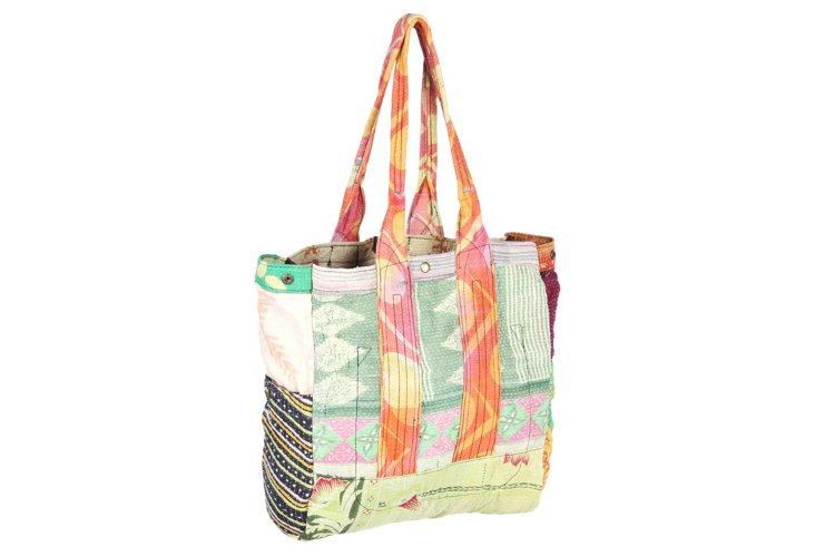 Kantha Multipatch Tote, Erin