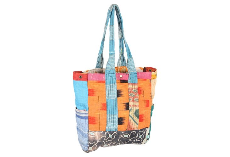 Kantha Multipatch Tote, Maggie