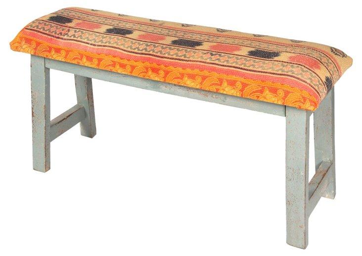 Westwood Bench, Orange/Multi