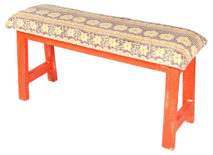 Talulah Bench, Lilac/Multi