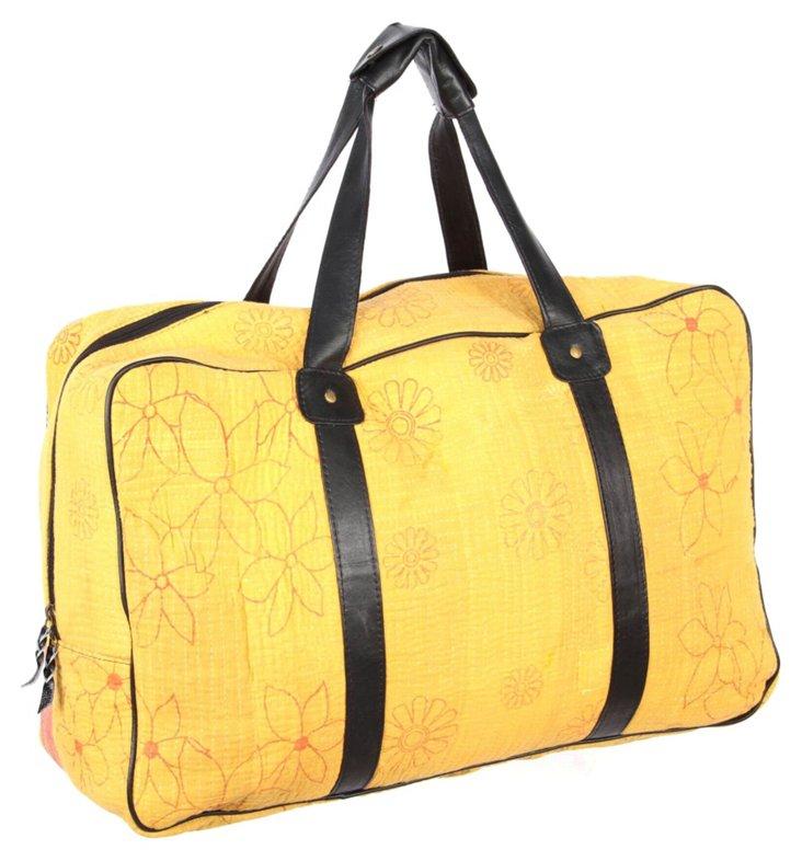 Overnight Kantha Bag, Vibrant