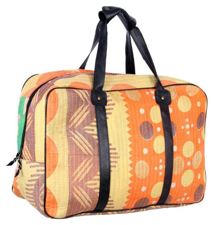 Overnight Kantha Bag, Majesty