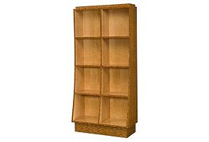 Skyscraper Bookcase, Light Brown
