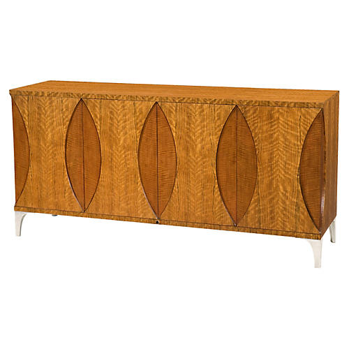 "Leaf 66.5"" Sideboard, Natural"