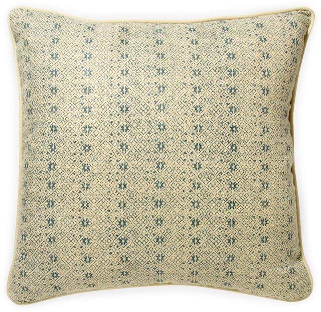2-Sided Zazu Pillow, Blue