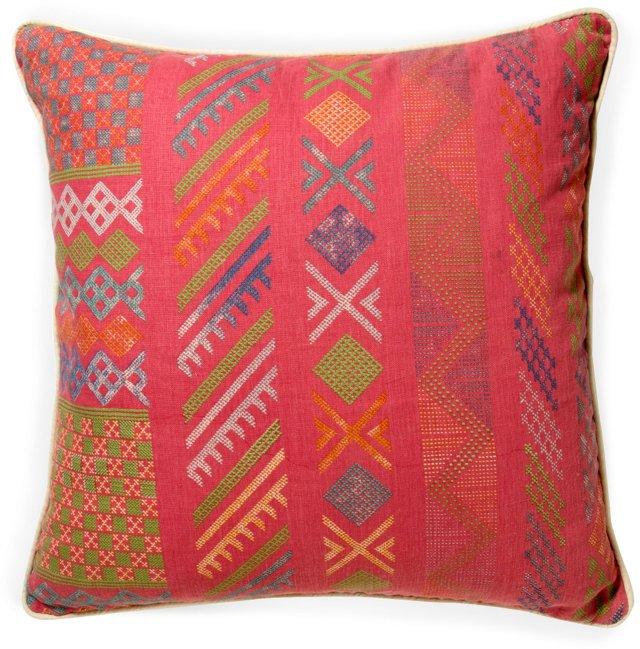 Tangier Pillow, Peony