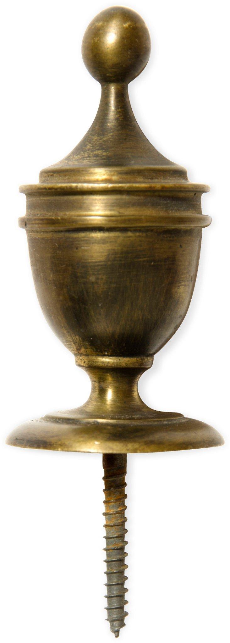 Antique Brass Doorknob II
